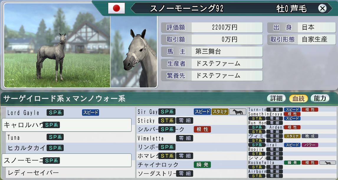 夜空に☆馬