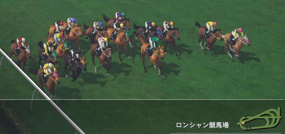 マッチョドラゴン凱旋門賞レース