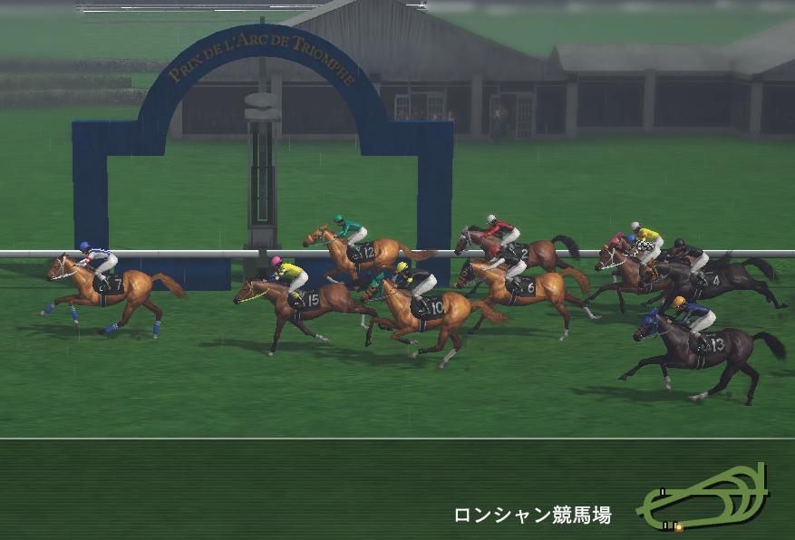 マッチョドラゴン凱旋門賞レース3