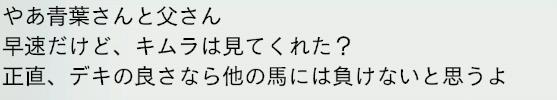 2032年皐月賞姉弟喧嘩2