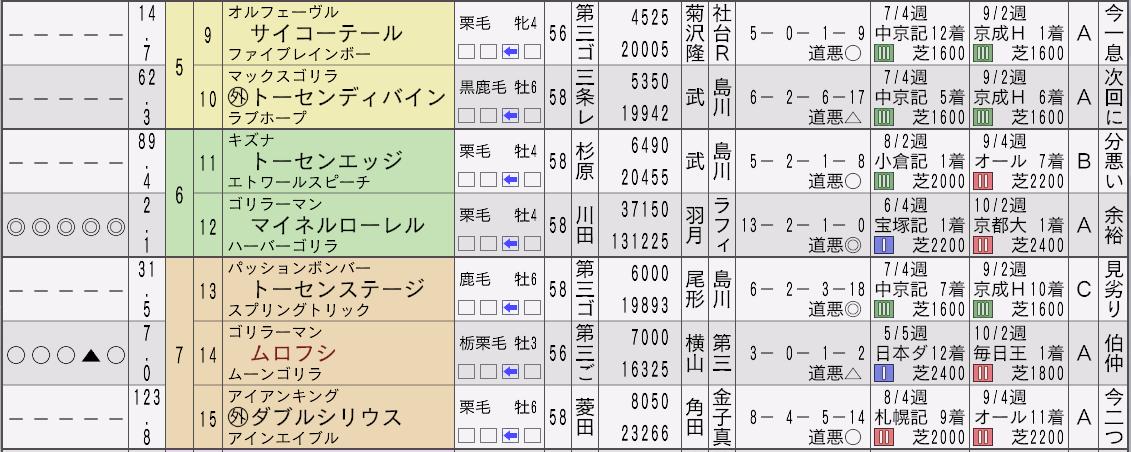 2032天皇賞秋新聞2