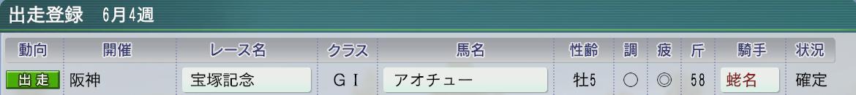 2013宝塚記念の調子が・・・