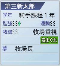 2015 1周目 2046 新太郎が騎手課程に!4